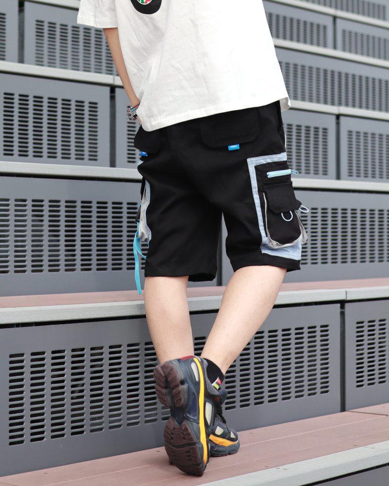 サイドベルトカーゴショートパンツ ハーフパンツ メンズの商品画像4